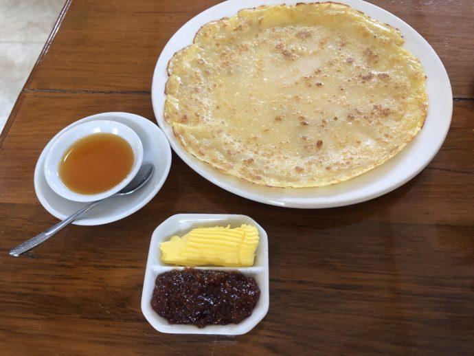 ミャンマー流パンケーキ