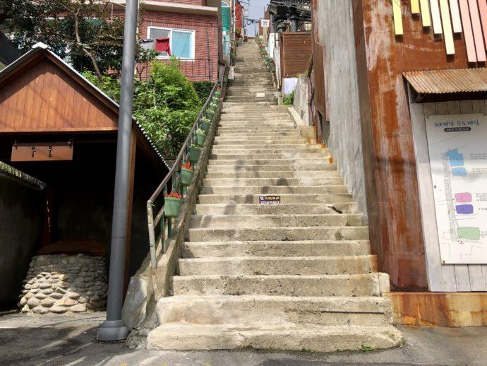 168階段