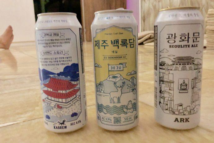 韓国産クラフトビール