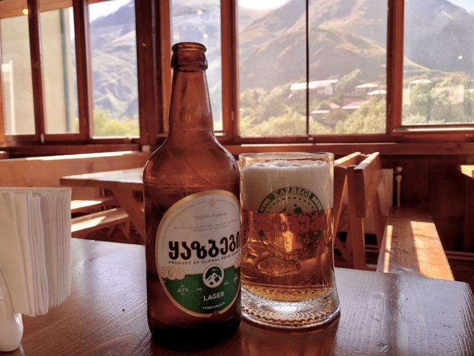 カズベキのビール
