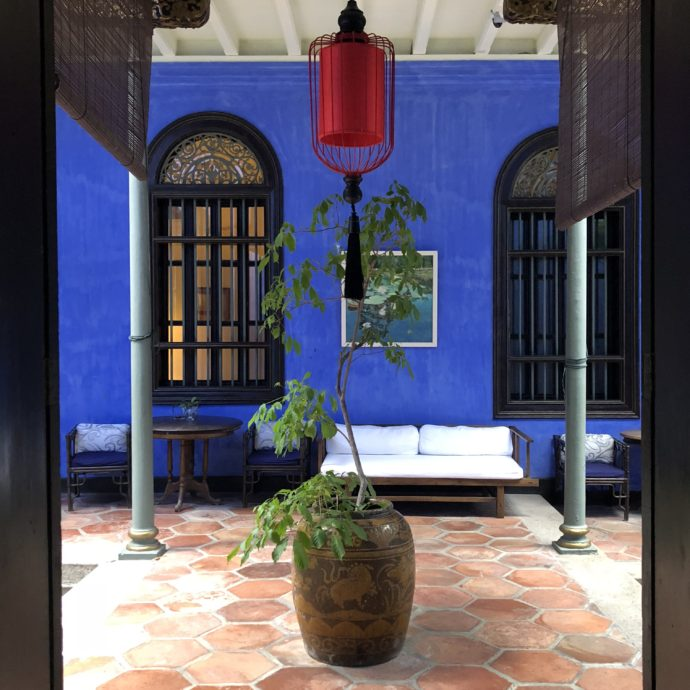 ブルーの庭