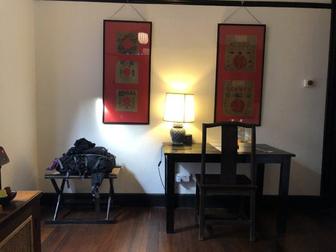 ホテルの居室
