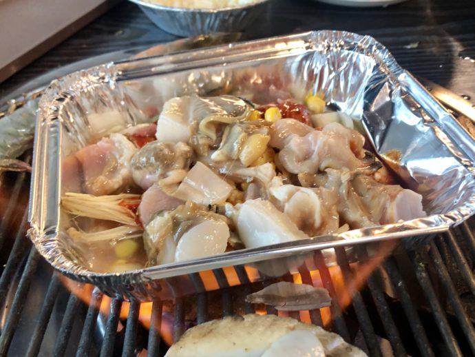 海鮮チーズ焼き