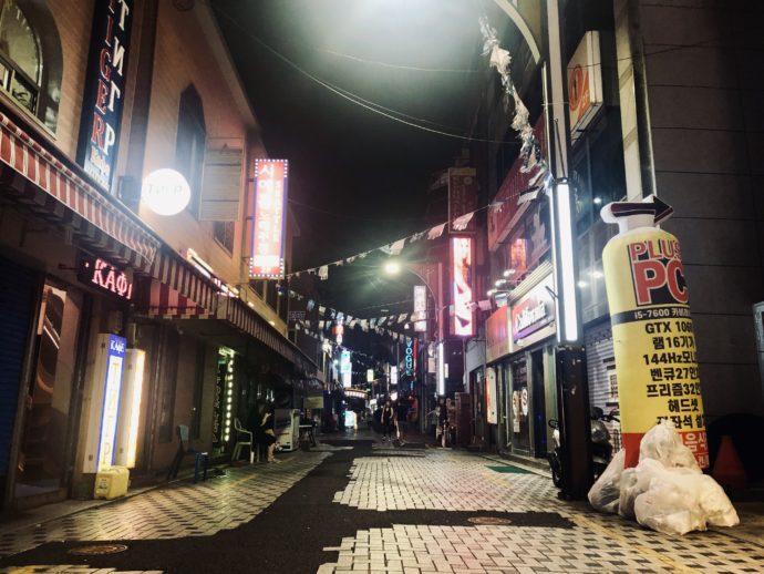 釜山のテキサスストリート