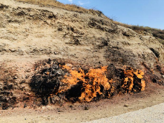 ヤナルダグの燃え続ける炎