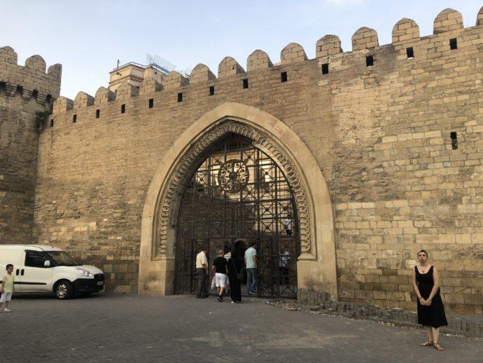 バクー旧市街の門