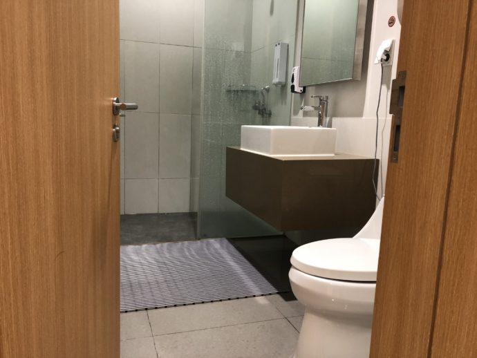 仁川空港の無料シャワールーム