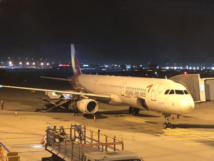アシアナ航空の機体