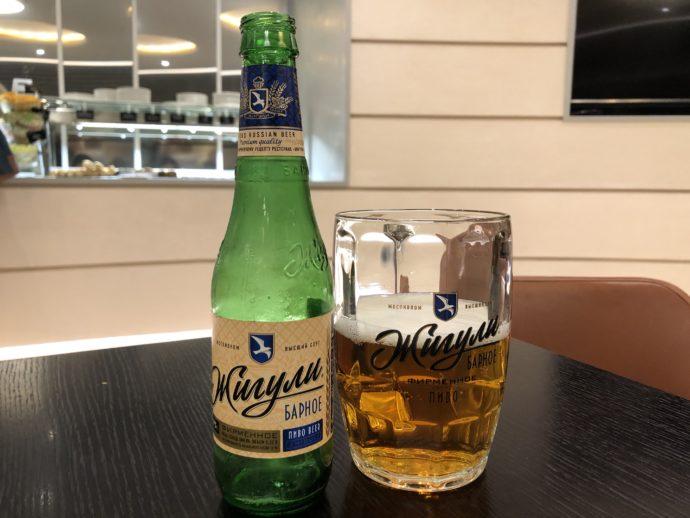 モスクワラウンジの瓶ビール
