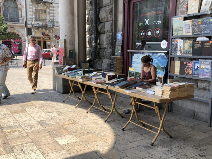街なかの古書販売
