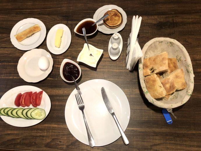 メスティアの朝食