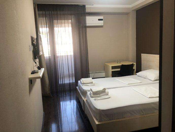 トビリシのホテルの部屋