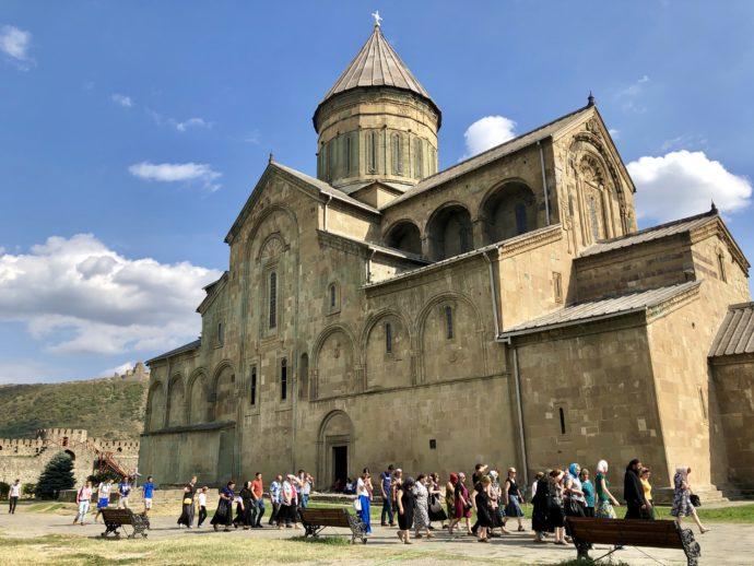 スヴェティツホヴェリ大聖堂の外観