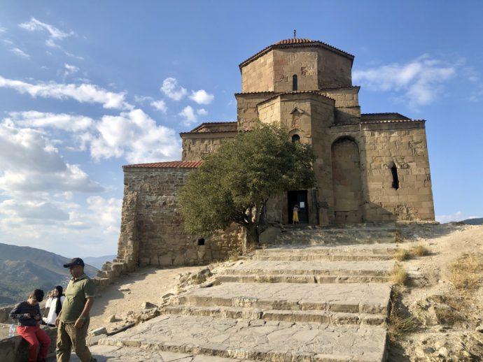 ジュヴァリ修道院の外観