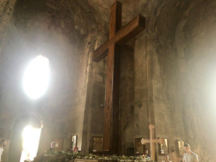 ジュヴァリ修道院の十字架