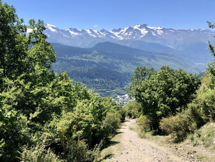 絶景の登山ルート
