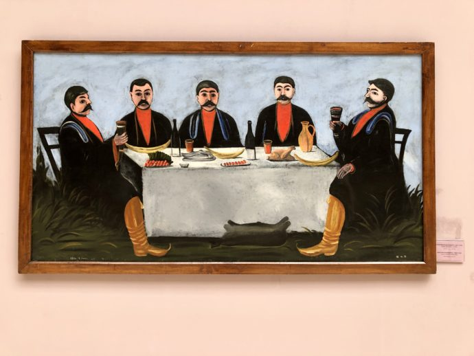 五人の貴族の宴
