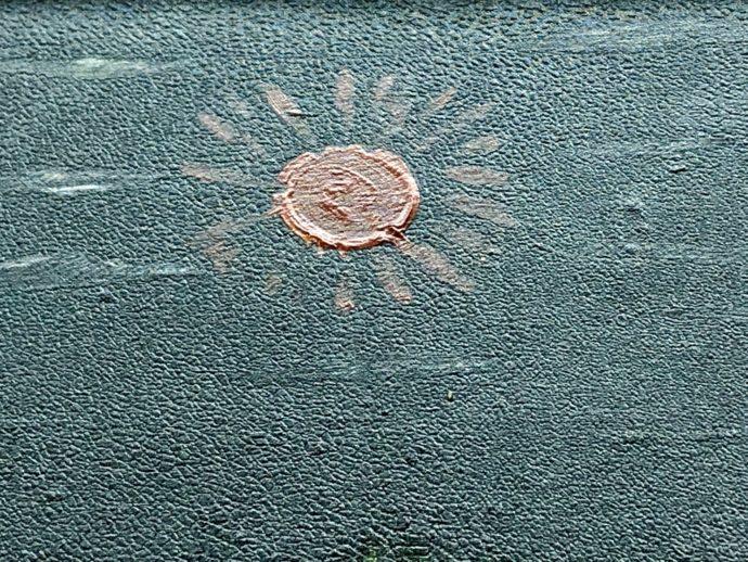 ヘタウマな筆致の太陽