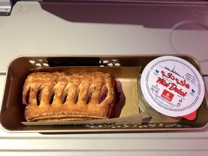 チェリーパイの機内食