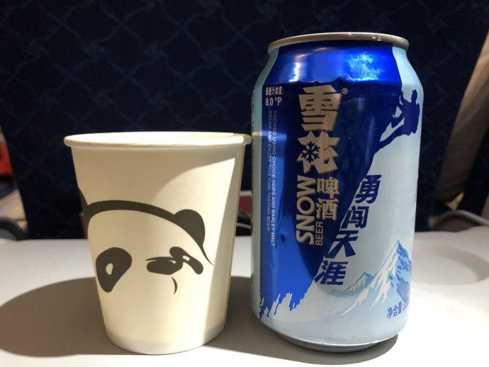 四川航空のビール