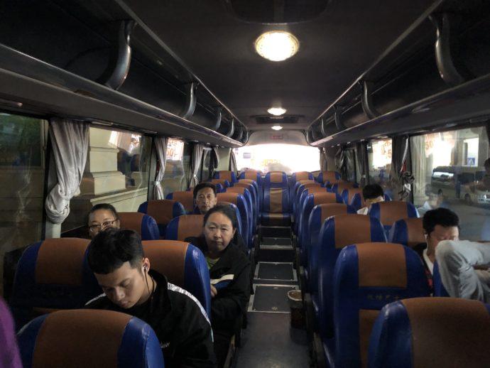 エアポートバス車内の様子