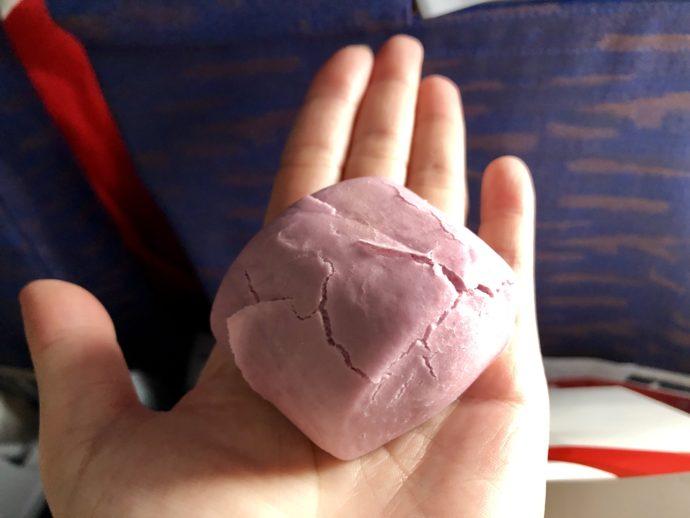 四川航空でふるまわれたパン