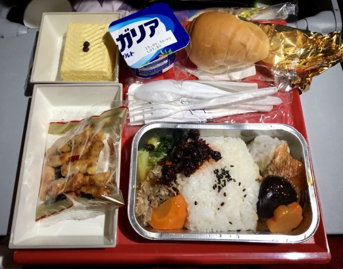 視線航空の機内食