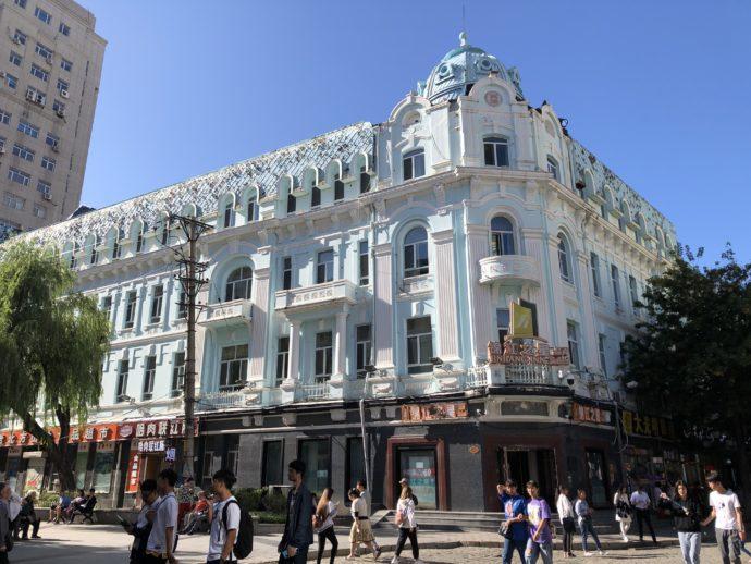 中央大街の老建築