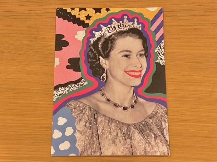 エリザベス女王のポストカード