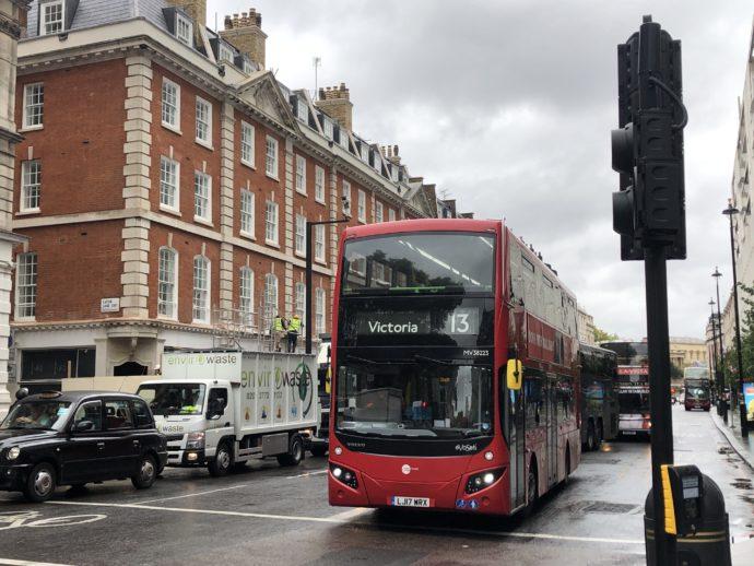 ロンドンの町歩き