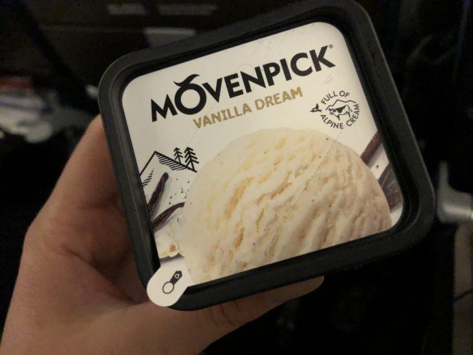 モーベンピックのアイスクリーム