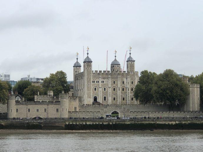 ロンドン塔の全体像