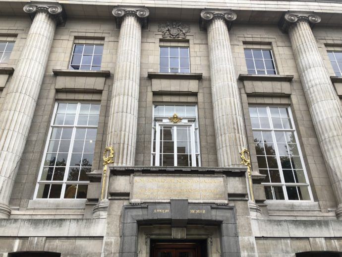 大英博物館の外観