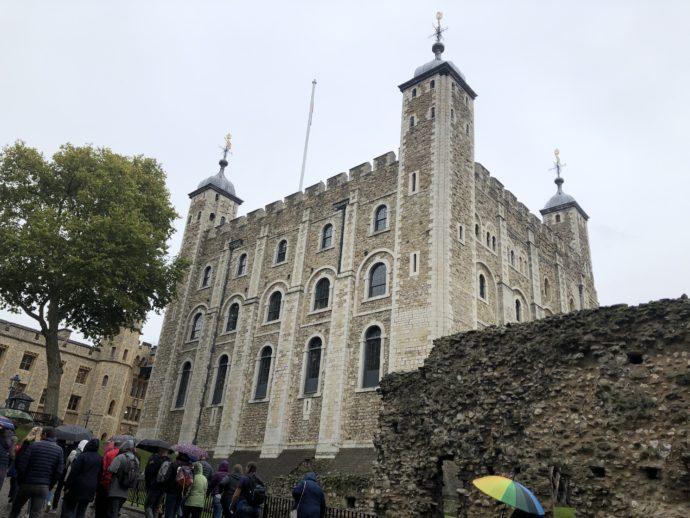 ロンドン塔のホワイトタワー