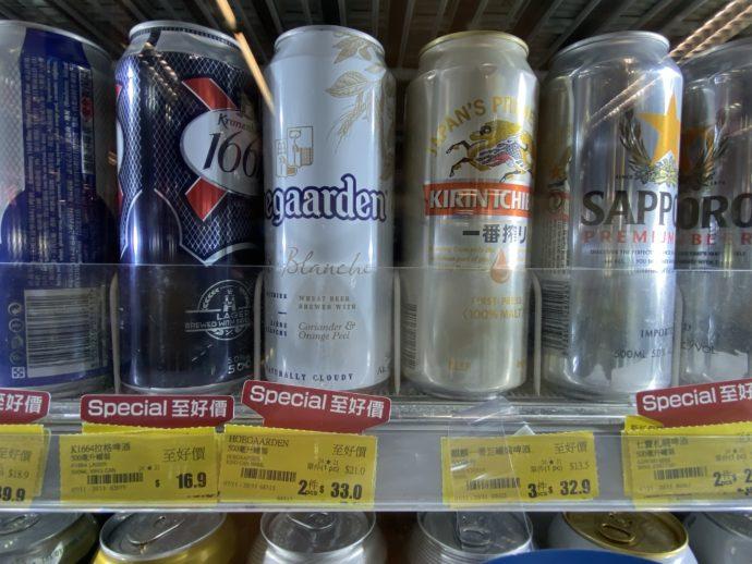 コンビニで売っているビール