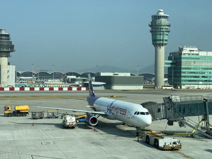 香港エクスプレスの機体