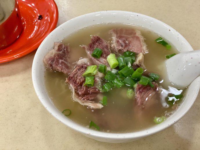 清湯牛腩麺