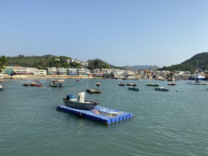 ラマ島の港