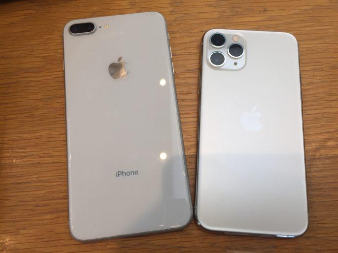 iPhone8plus&iPhone11pro
