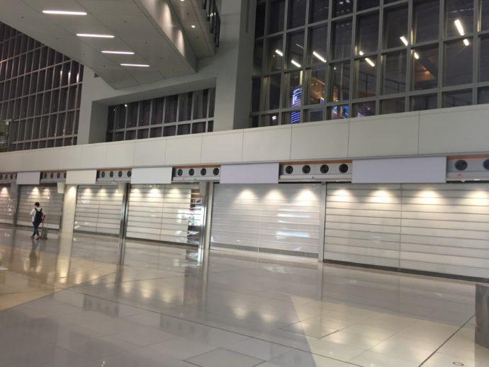 ターミナル2のロビー