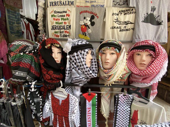 中東のスカーフ