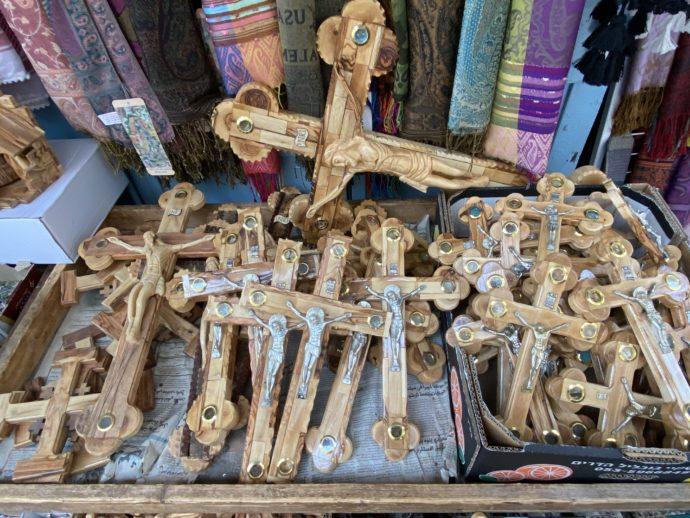 木製ロザリオ