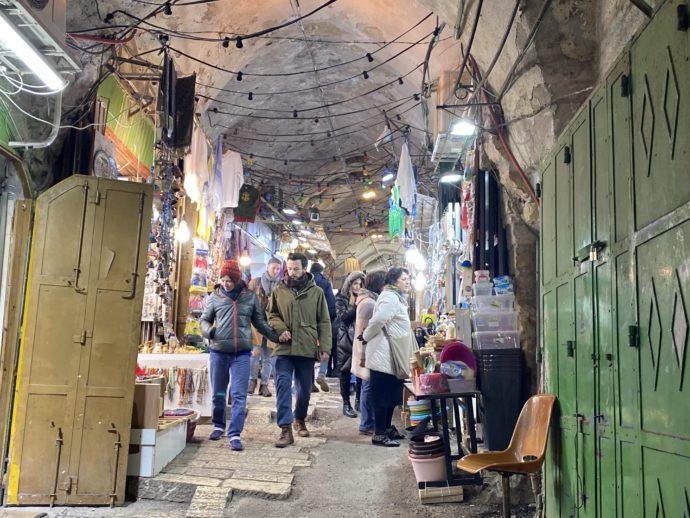 エルサレム旧市街のスーク