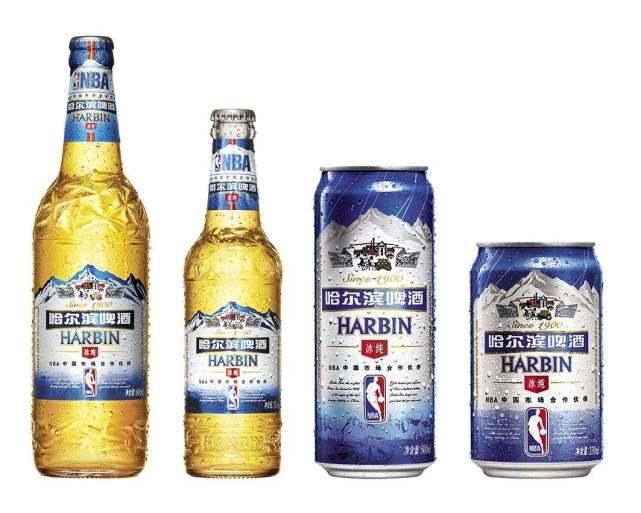 哈爾濱啤酒4本