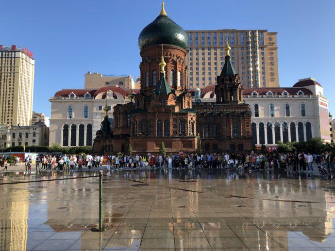 聖ソフィア聖堂と広場