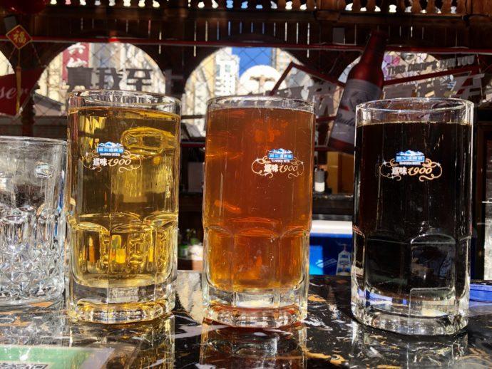 ジョッキに入ったクラフトビール