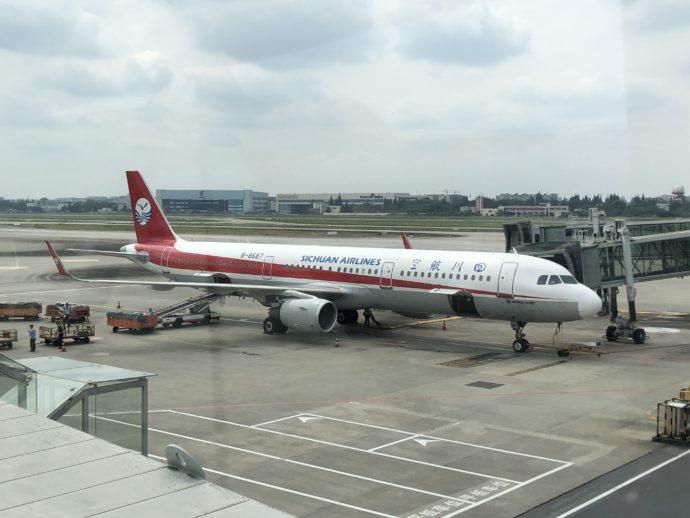 四川航空機