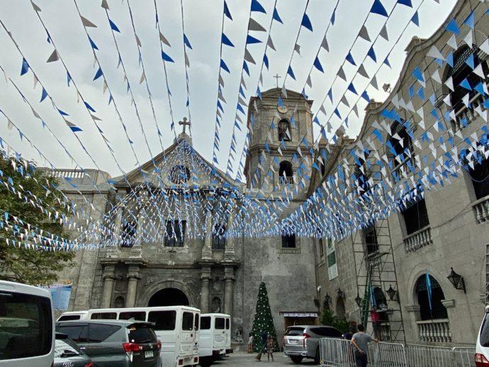 サン・オウガスチン教会の外観