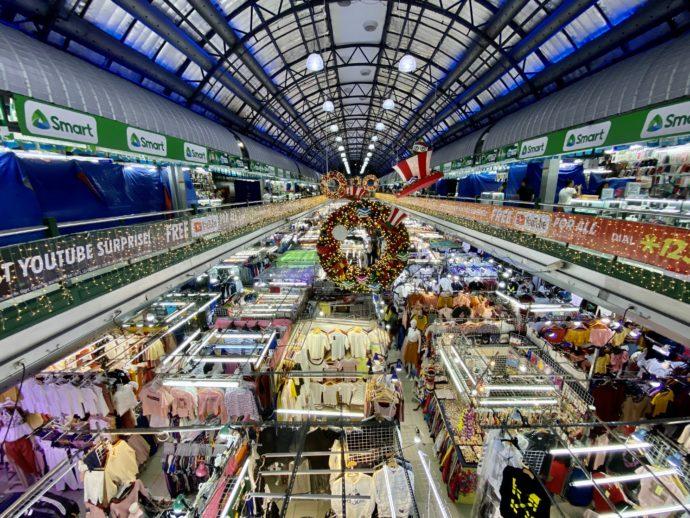 グリーンヒルズマーケットの混雑