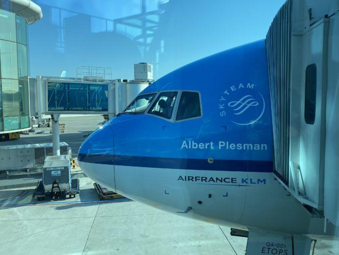 KLMオランダ航空のボディ